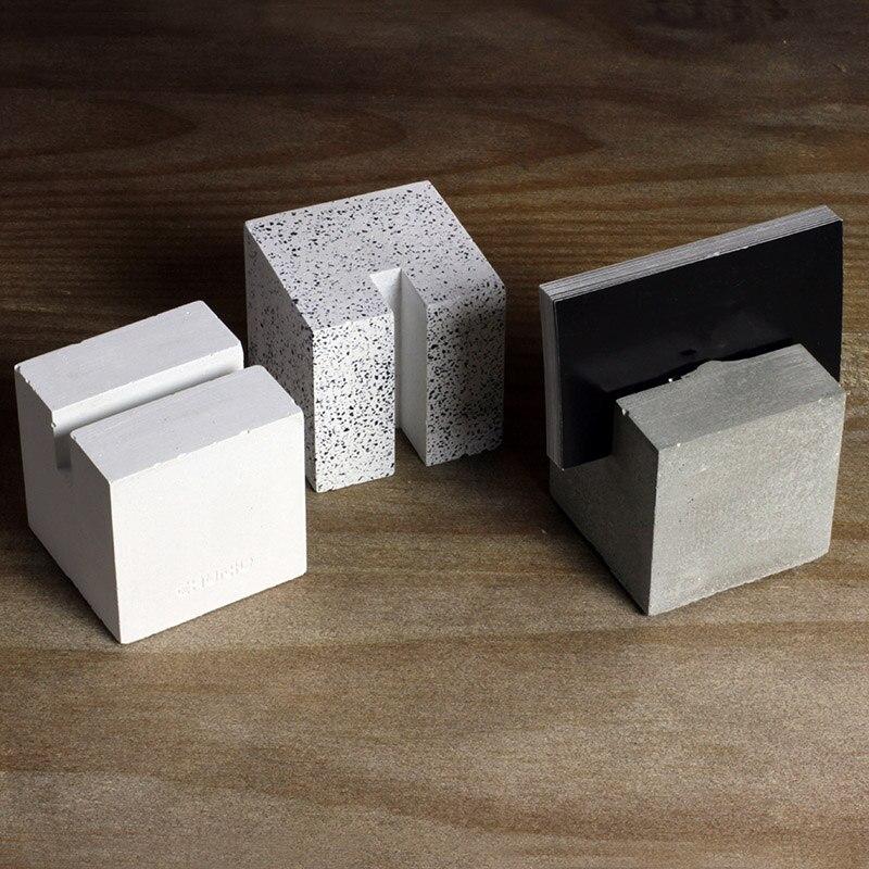 Us 18 91 11 Off Kartenhalter Silikonformen Beton Handwerk Formen Silikon Formen Für Visitenkartenhalter In Backformen Aus Heim Und Garten Bei