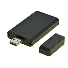USB 3.0 to MSATA SSD Portable Mobile Box USB3.0 to mini SATA Hard Disk adapter mSATA SSD Case HDD enclosure