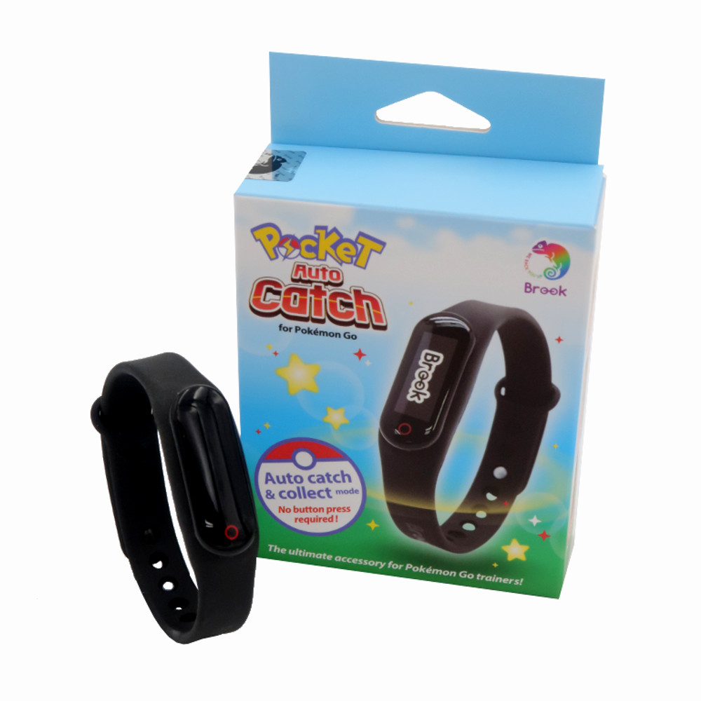 Brook Pocket Auto Catch Collect for Pokemon Go Plus for Bluetooth for Smartphone with Bracelet WristBand