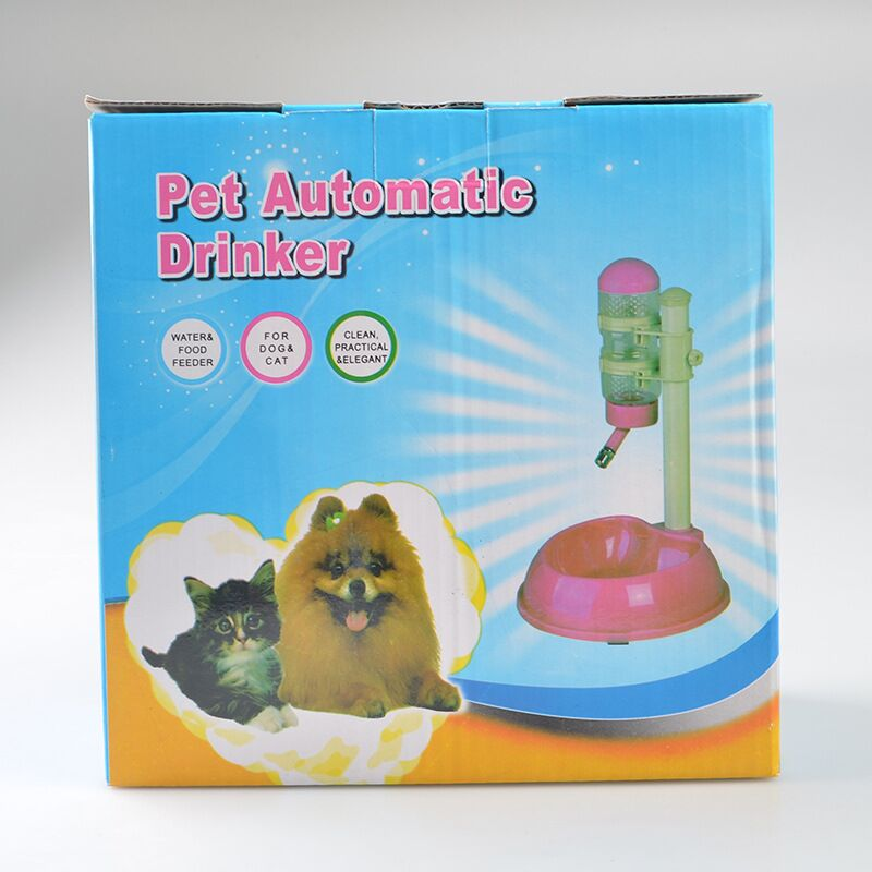 FD135 pet Automatic Drinker Pet Cat Dog <font><b>Water</b></font> Drinker Dispenser <font><b>Food</b></font> Stand Hamster Feeder Dish Bowl Bottle free shipping