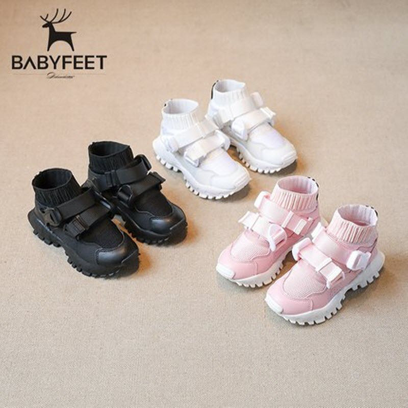 Babyfeet children shoes Booties boy girl sneakers chaussure enfant running Sport shoes schoenen kids tenis menino tenis infantil babyfeet 2017 winter children shoes fashion warm suede leather sport running school tenis girl infant boys sneakers flat loafers