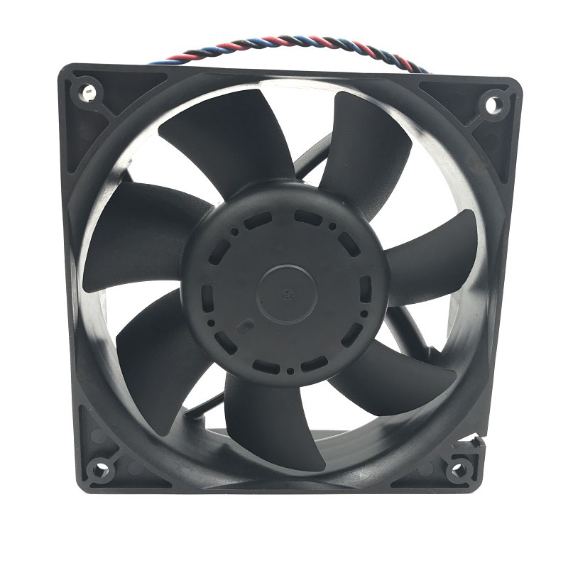 Image 4 - for delta AFB1212GHE 120x120x38mm DC 12V 3.24A 3 pin TAC connector axial powerful cooling fancooling fanpowered cooling12v axial fan -