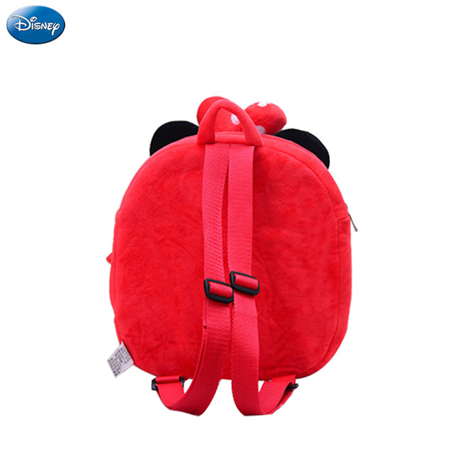 genuine disney backpack mickey mouse minnie 25cm plush cotton stuffed doll kawaii kindergarten bag christmas gifts toy for kids - Disney Christmas Gifts