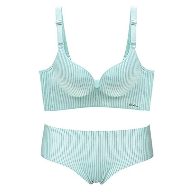 Fashion   Bra     Briefs     Set   For Women Push Up Lingerie Seamless Panties   Bras   Wire Free Bralette Brassiere Female Underwear Intimate#D