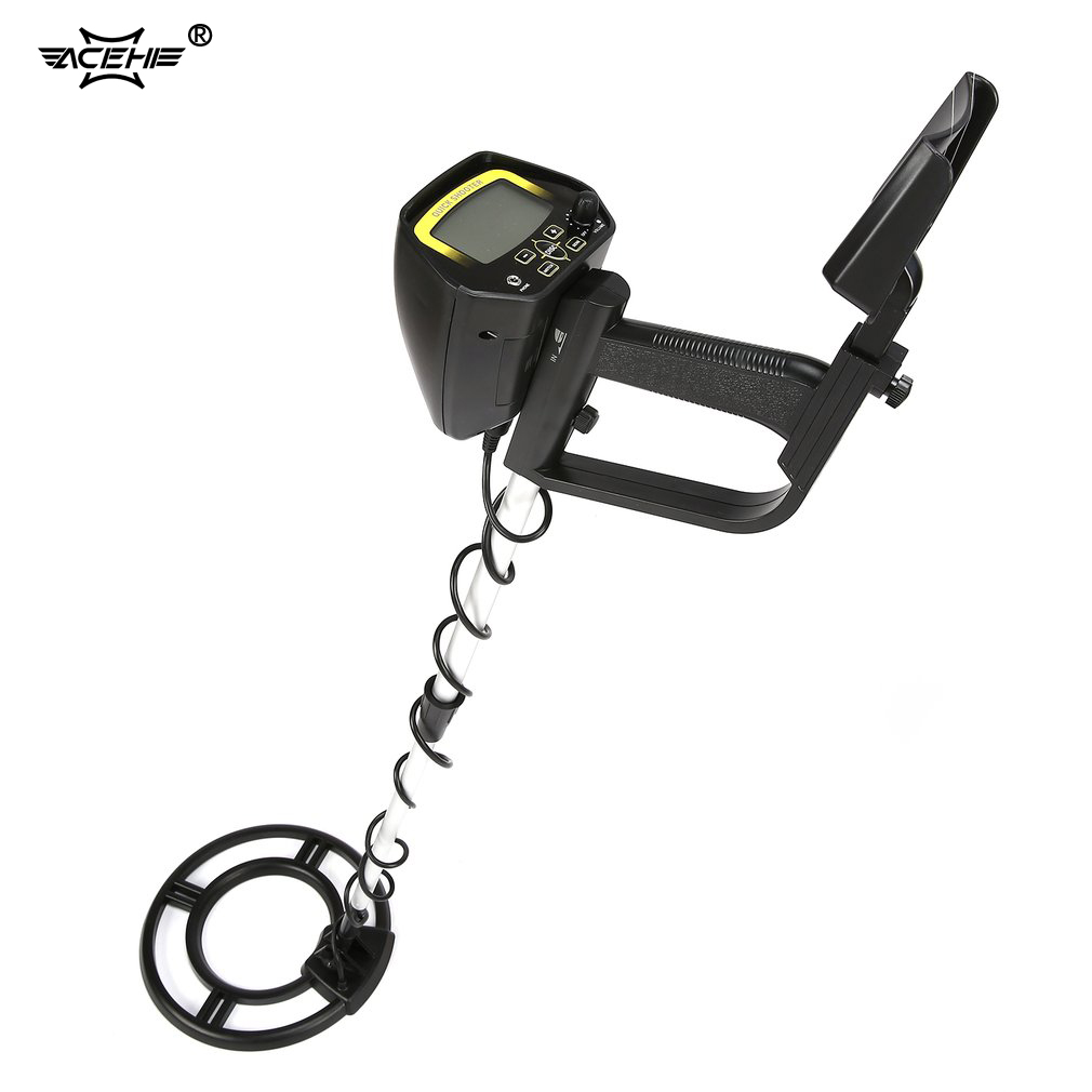 ACEHE Underground Metal Detector MD4060 Professional Portable Mini Handheld Treasure Hunter Gold Digger Finder Length AdjustableACEHE Underground Metal Detector MD4060 Professional Portable Mini Handheld Treasure Hunter Gold Digger Finder Length Adjustable