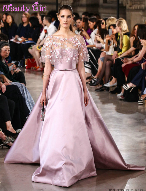 56a211d8ffb4 Evening Dresses Designer Evening Gowns Faviana. Pink Strapless Floor length  Satin Evening Gown With Beaded Jacket .