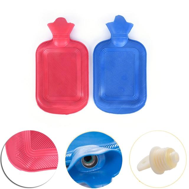 Random Color Hot Water Bottle Thick High Density Rubber Bag Hand Warming Bottles