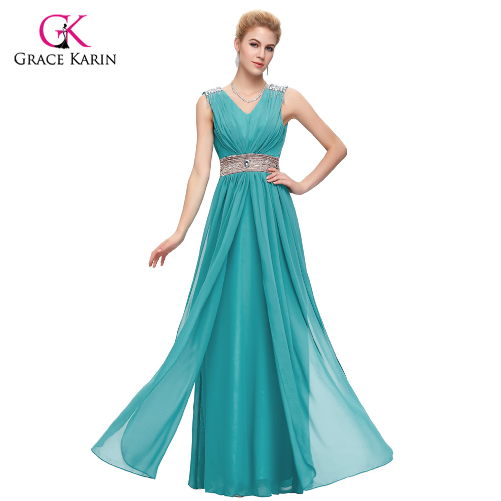 Grace Karin Bridesmaid Dresses Long Vestido Madrinha Floor Length ...