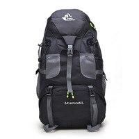 50L Sport Bag Backpack Women Men Big Capacity Outdoor Mountaineering Hiking Travel Backpacks Bag