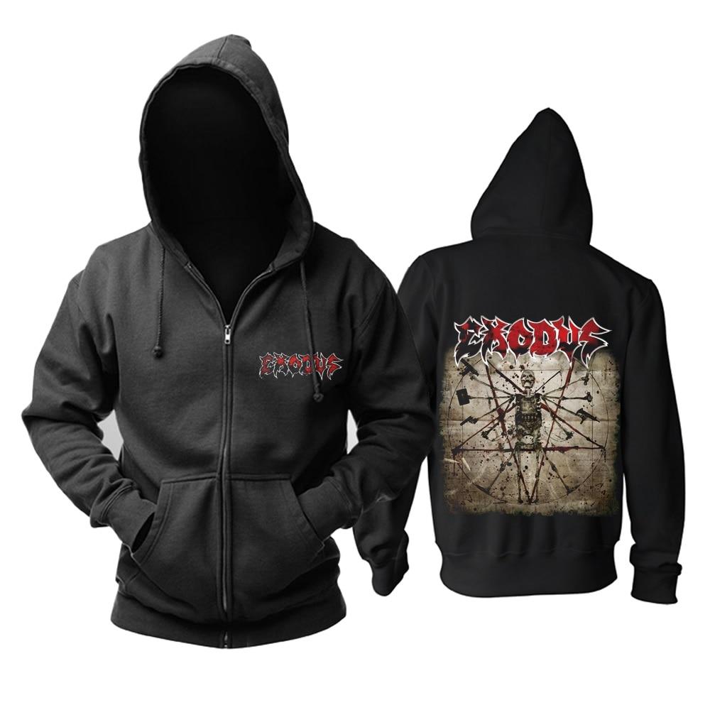 15 видов ужасный Exodus sudadera рок хлопок толстовки оболочка куртка панк рокерский спортивный костюм тяжелая металлическая брэндовая одежда, спортивные футболки - Цвет: 11