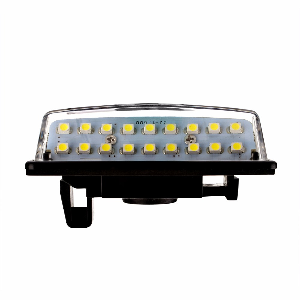 US $10 91 20% OFF|2pcs Car LED Number License Plate Light 12V SMD LED Lamp  for Nissan Versa Note Tenna J31 Maxima Cefiro Altima Rogue Car Styling-in