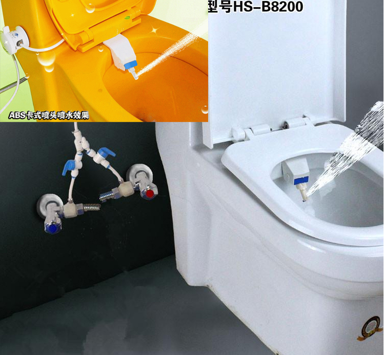 Online Kaufen Großhandel Wasser Bidet Aus China Wasser Bidet ... Hi Tech Toilette Mit Wasserstrahl
