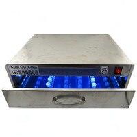УФ лампа УФ клей отверждающая коробка светодио дный светодиодная УФ отверждающая световая коробка Сепаратор сплит экран машина УФ пластик