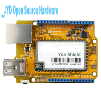 Newest Yun Shield V2 4 All In One Shield For UNO Leonardo Mega2560 Linux WiFi Ethernet