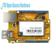 Newest Yun Shield V2 4 All In One Shield For UNO Leonardo Mega2560 Linux WiFi Ethernet