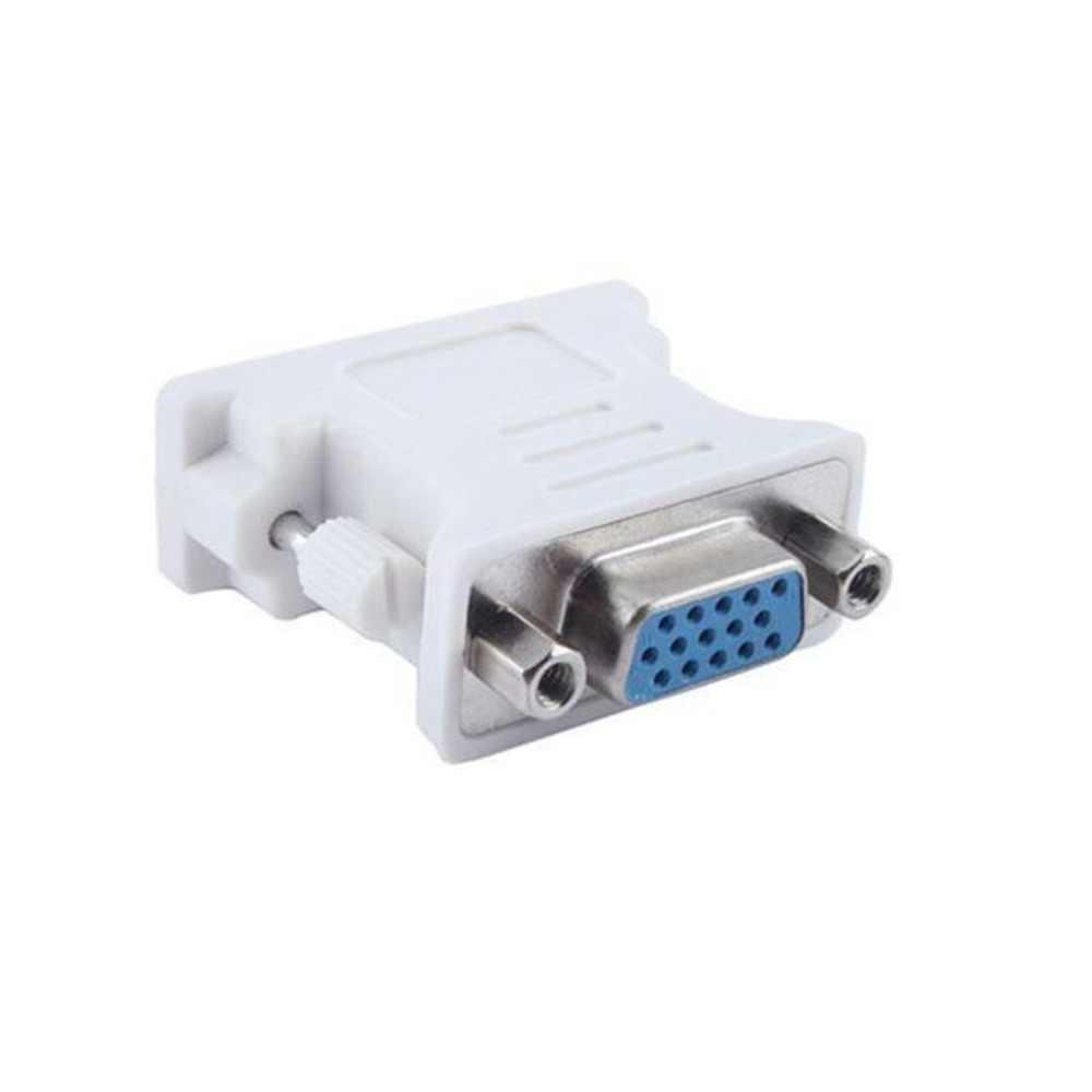 DVI D الذكور إلى VGA الإناث محول مأخذ التوصيل تحويل VGA إلى DVI/24 + 1 دبوس ذكر إلى VGA شاحن أنثي تحويل