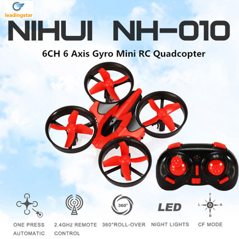Mini Drone RC Quadcopter NH010 2.4G 6-Axis 4 Channels 30M Headless Mode One Key Return RC Helicopters Dron Toys Pocket Drones (14)
