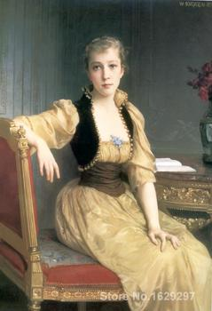 Lady Maxwell William Adolphe Bouguereau painting for sale Hand painted High quality