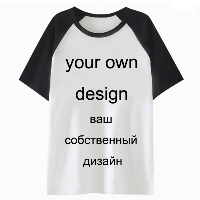 Latest Your OWN Design Model Brand/Image White Customized Males/ladies T-shirt Plus Measurement T Shirt DIY Customise Clothes Male/feminine T-Shirts, Low cost T-Shirts, Latest Your OWN Design Model Brand/Image White...