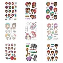 Прозрачный силиконовый штамп с изображением животных для мальчиков и девочек/печать для скрапбукинга DIY/фотоальбом на День святого Валентина, декоративный прозрачный штамп