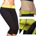Execução Yoga Shorts Calças de Treinamento Ao Ar Livre Esportes de Perda de Peso Calças Justas Hot Neoprene Emagrecimento Shaper Calça Esporte
