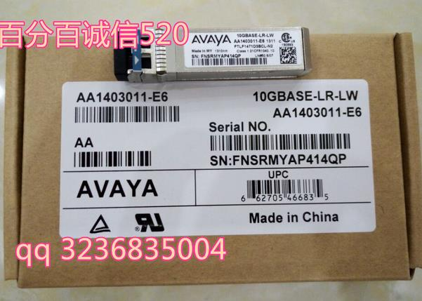 Free shipping! In stock 100%New and original   3 years warranty   AA1403011-E6 10GBase-LR SFP+   10KM 1310nm free shipping xc3020 70pg84m new original and goods in stock