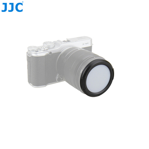 Image 5 - JJC Camera Lens Protective Filter Card 49/52/55/ 58/62/ 67/72/77mm White Balance Lens Cap for Sony/Nikon/Canon/Olympus/Pentax