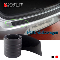 KAWOO For VW Passat B6 B7 Golf MK4 MK5 MK6 Tiguan Beetle Sharan Rubber Rear Guard