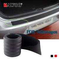 KAWOO For VW Passat B6 B7 Golf MK4 MK5 MK6 Tiguan Beetle Sharan Rubber Rear Guard