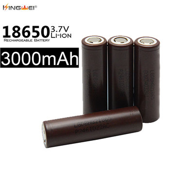 100pcs/lot Wholesale Price LG 18650 3.7V 20A 3000mAh Li-ion Battery Rechargeable Battery for Flashlight Power Bank Toy