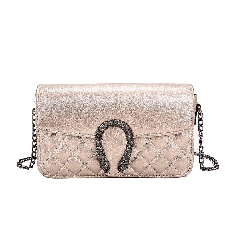 Women Chain Bags Designer Diamond Lattice Shoulder Bag Crossbody Bags Ladies Messenger Bags Fashion Handbags  HJ02