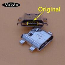 1000 قطعة مايكرو USB شحن ميناء حوض جاك موصل المقبس لسامسونج غالاكسي J5 Prime On5 G5700 J7 On7 G6100 G532