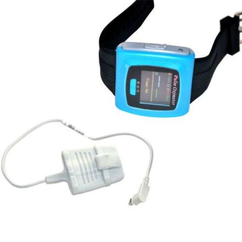 Продавец из США, наручные Пульсоксиметр, часы, монитор Spo2, контроль сна, Оксиметрия CE/FDA CONTEC CMS50F