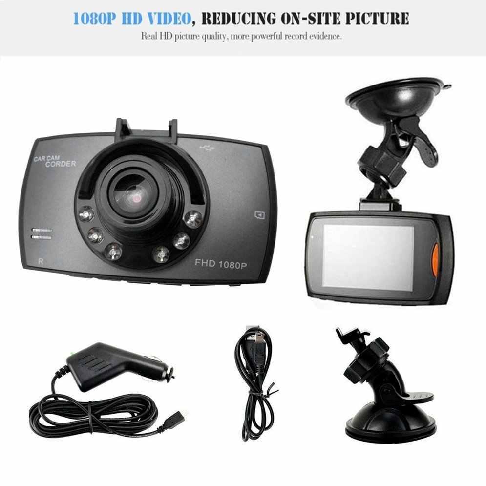 G30 2,4 дюймов Автомобильный видеорегистратор 90 градусов Novatek 96220 видеорегистратор Full HD 1080P камера g-сенсор камера видеорегистратор