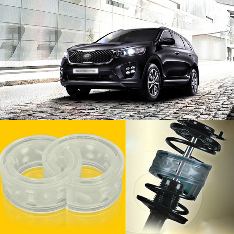 Teeze 2pcs Power Front /Rear Shock Suspension Cushion Buffer Spring Bumper For Kia Sorento 2016