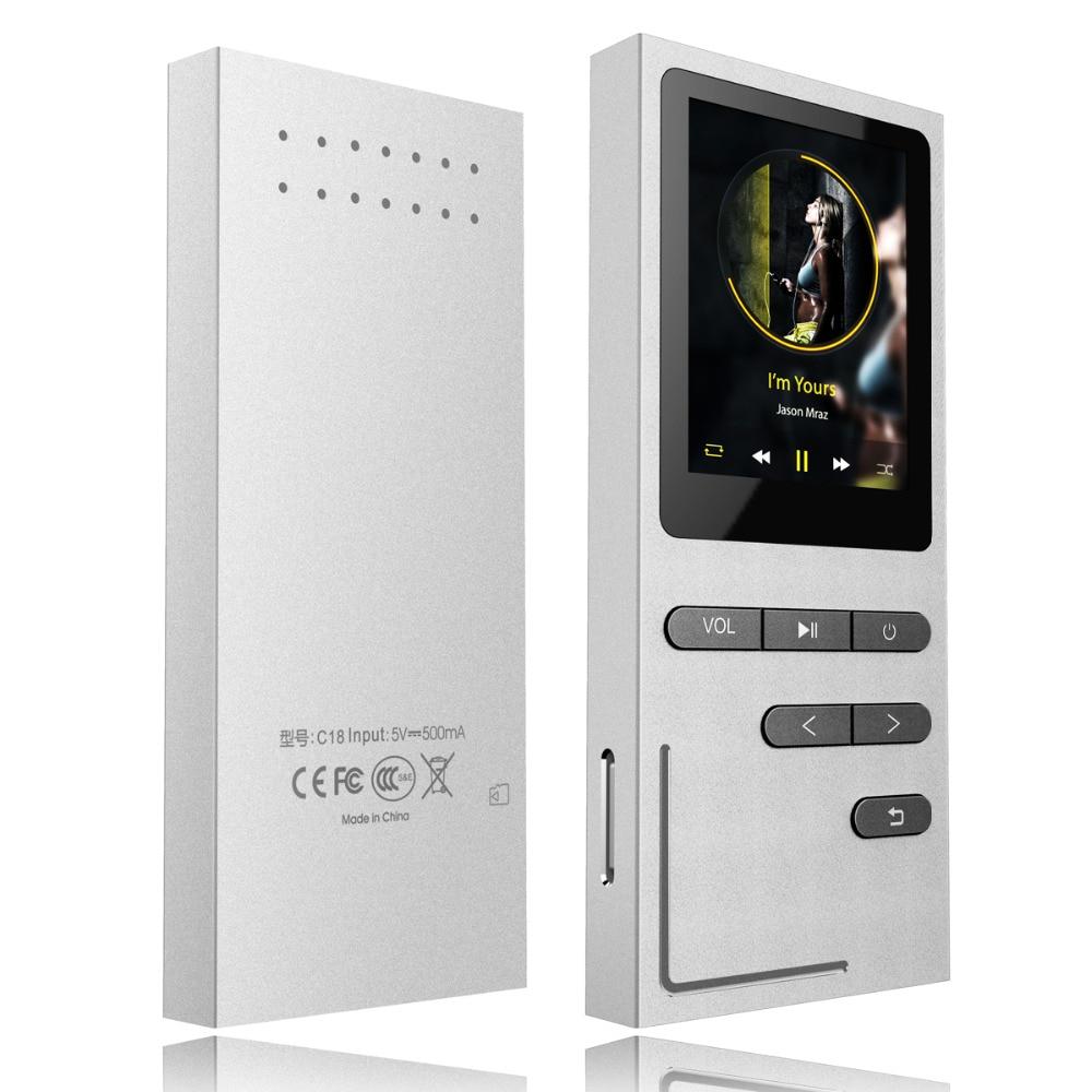 Prenosný MP3 přehrávač HIFI 8 GB bezhlučný hudební přehrávač s reproduktorem 50 hodin přehrávání Hlasový záznamník / FM rádio Rozšiřitelné až 64 G