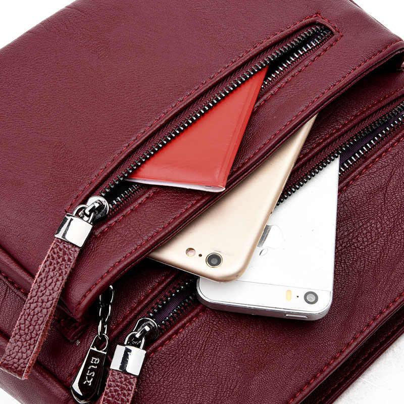 ef0883620ab8 ... KMFFLY 2018 модные женские туфли сумка из натуральной кожи Элитный  бренд Для женщин Курьерские сумки женские ...