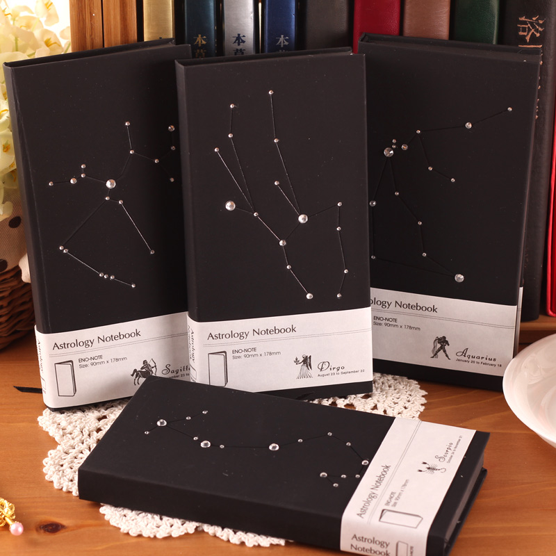 New Constellation Diary Hardcover Notebook Notepad Creative Note Book Office School Supplie notebooks Gift nahemah nahemah a new constellation