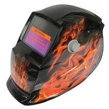 2018 New Pro Solar Welder Mask Auto-Darkening Welding Helmet Square flame Dropshipping