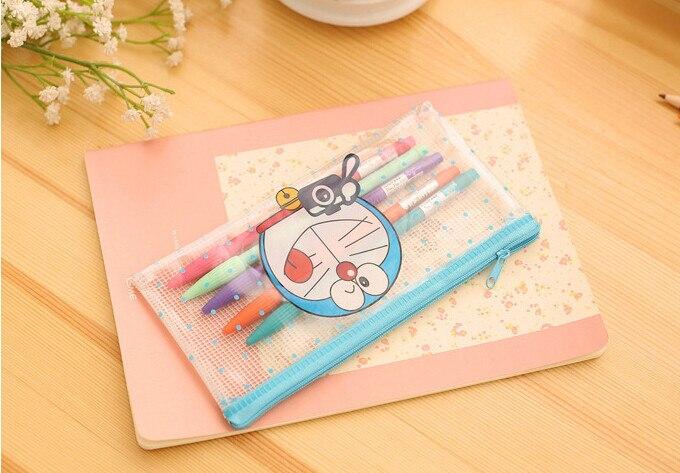 10pcs cartoon doraemon pen bag baby shower favors return gift kids birthday party supply