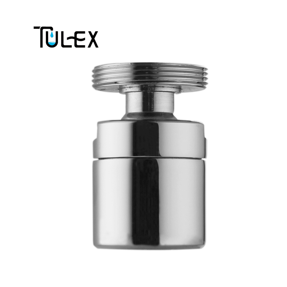 TULEX Water Saving Kitchen Shower Head 24MM Male Thread Faucet Swivel Aerator Brass Bidet Faucet Spout Bubbler Filter For Crane