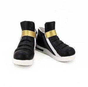 Image 2 - Обувь для косплея игры LOL KDA Akali, сапоги для косплея Akali для взрослых, женская черная обувь