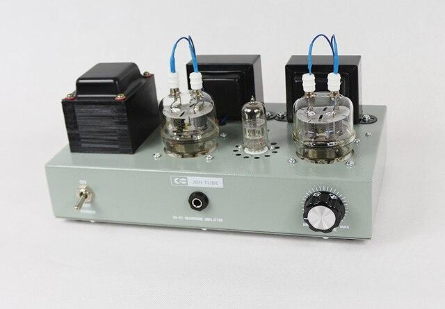 2020 Promotion spéciale ICAIRN AUDIO bricolage 6N2 + FU19 Tube à vide Tube électronique casque Audio amplificateur 4W * 2 + 1W puissance casque