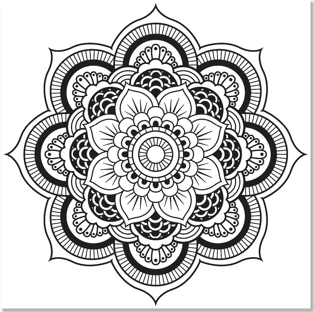 Mandala Designs Coloring Book (31 stress relieving designs) (Studio ...