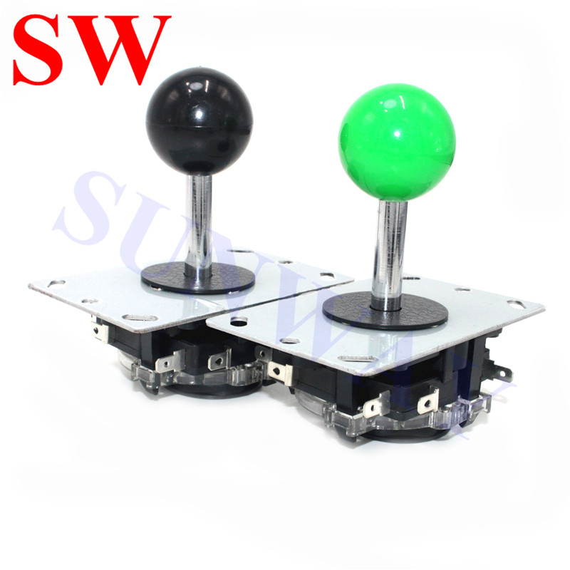 2PCS/Lot  4/8 way Arcade Joystick with Mirco-switch  China Game Stick Copy Sanwa Style Joysticks For DIY Game Kits/Jamma Machine