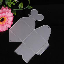 S-home New Metal Heart Candy Box Holder Cutting Dies DIY Gift Making Stencil Crafts MAR9