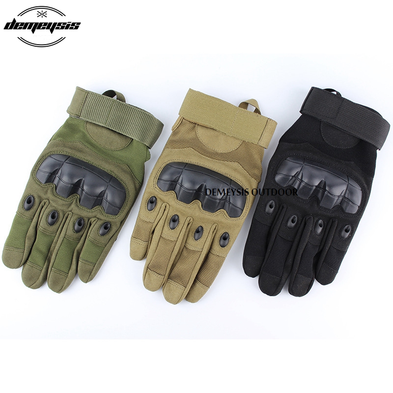 Outdoor Army Tactical Gloves Full & Half Finger Gloves Protection Riding Climbing Sports Gloves Hiking Combat Gloves