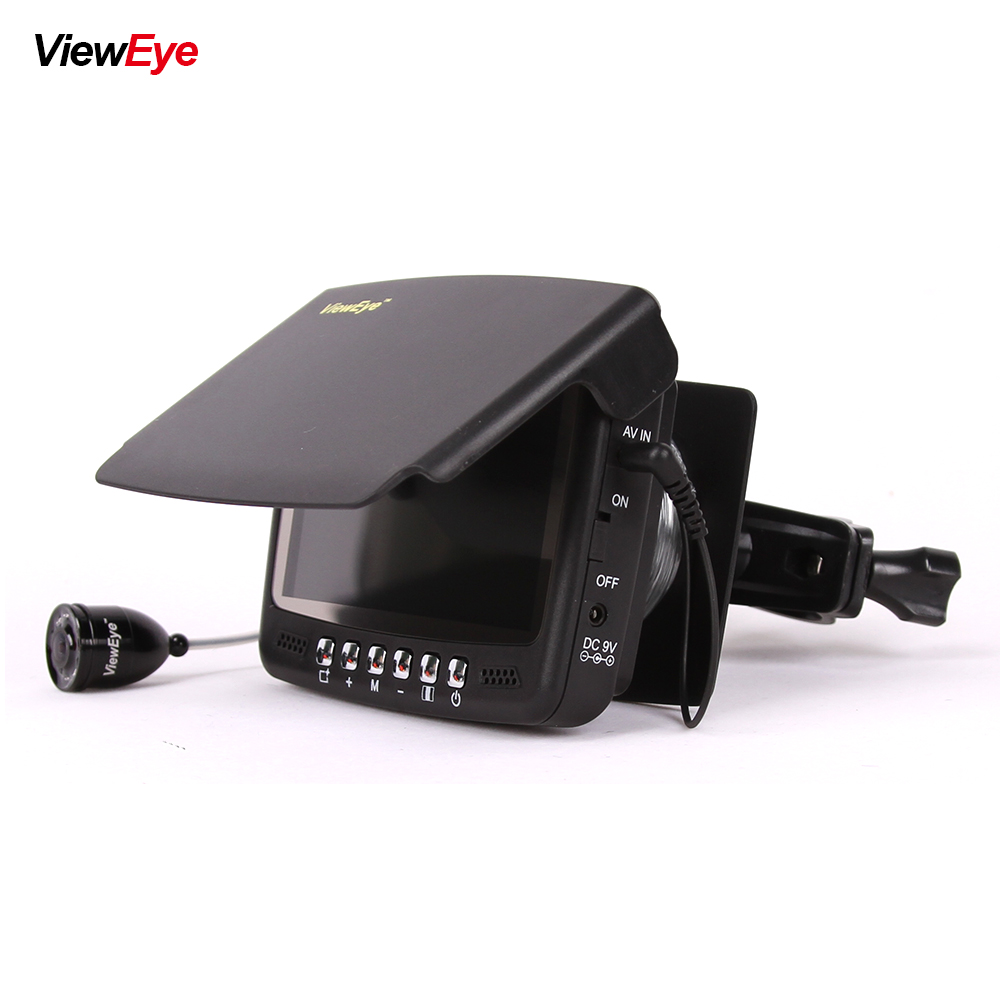 Visible Video Fish Finder Underwater Ice Video Fishfinder Fishing Camera IR Night Vision 4 3 inch