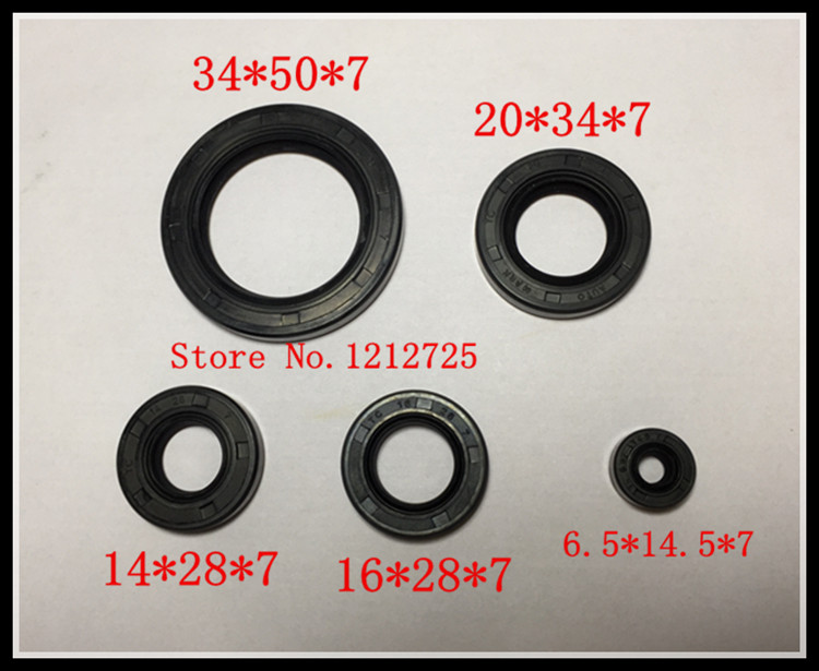 CG motorcycle Engine Front Seal CG125 CG150 CG200 Engine oil seal