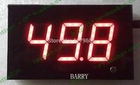Wandmontage digitale geluidsmeter size tester Digitale decibelmeter WS844 voor Bar, winkel, hal, kantoor, game room 123x75x27mm